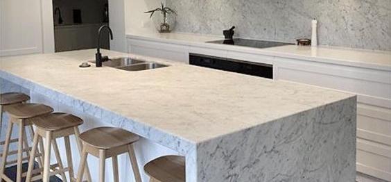 Carrara-marble-benchtop